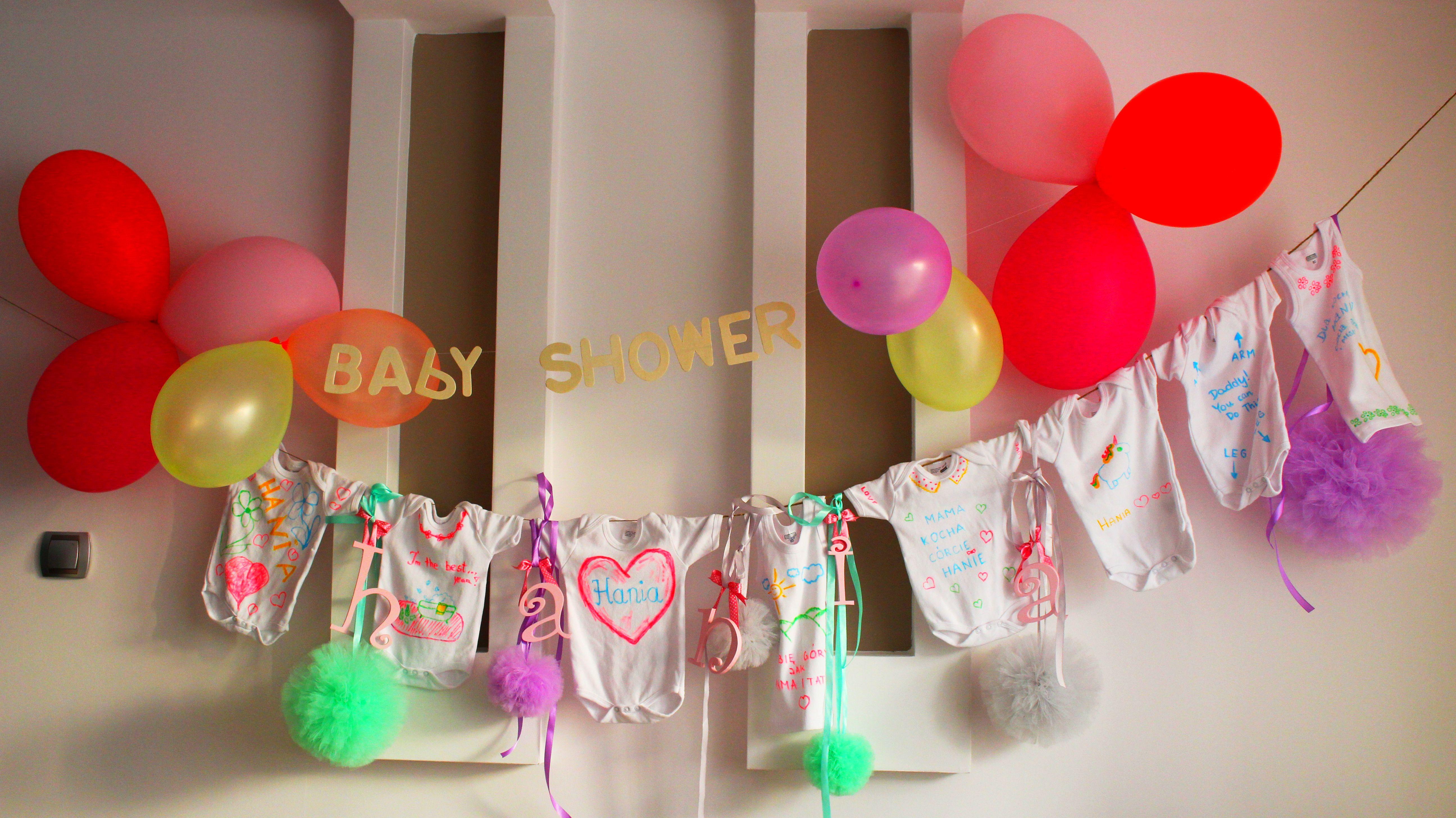 baby shower organizacja, slodkave
