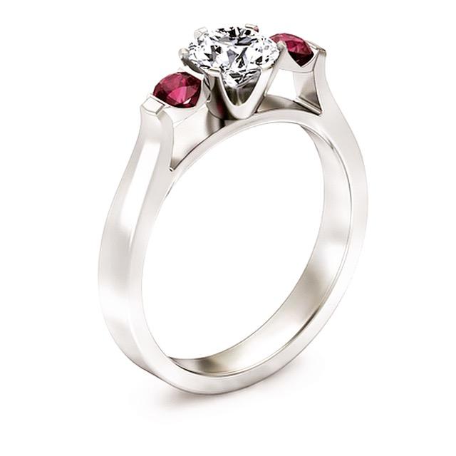 Pierścionek zaręczynowy musi być dobrany idealnie do narzeczonej ;)