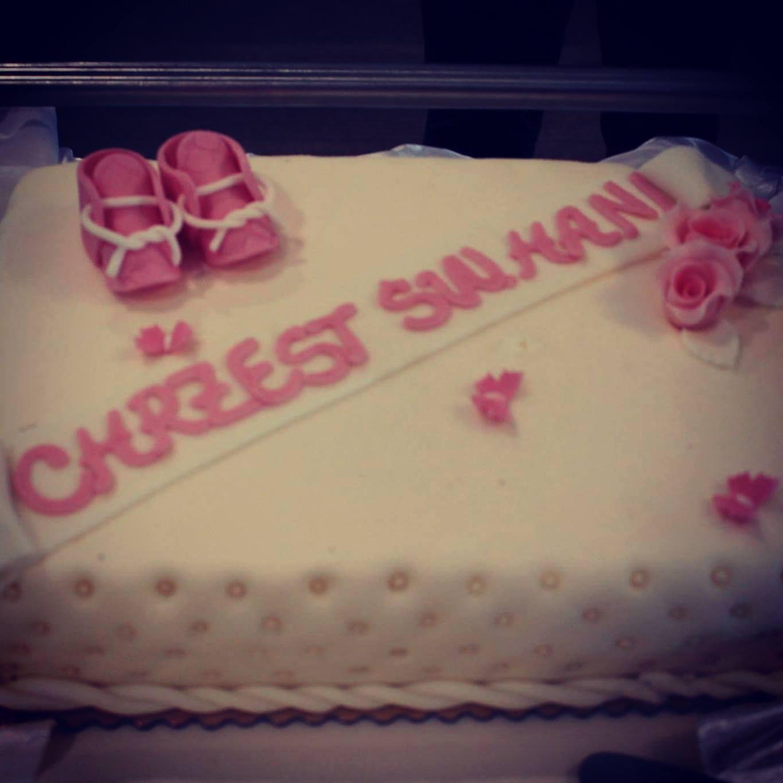 Przepyszny i przepiękny tort cytrynowy! Mniam!