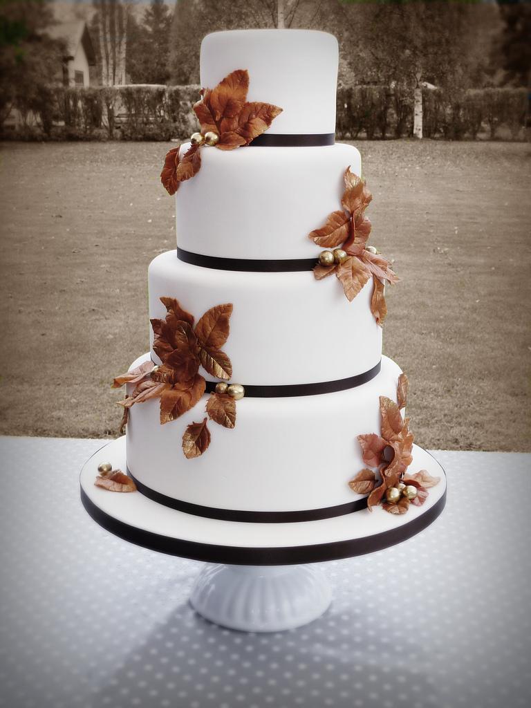 Pyszny jesienny tort - nie wychodzimy z konwencji :)