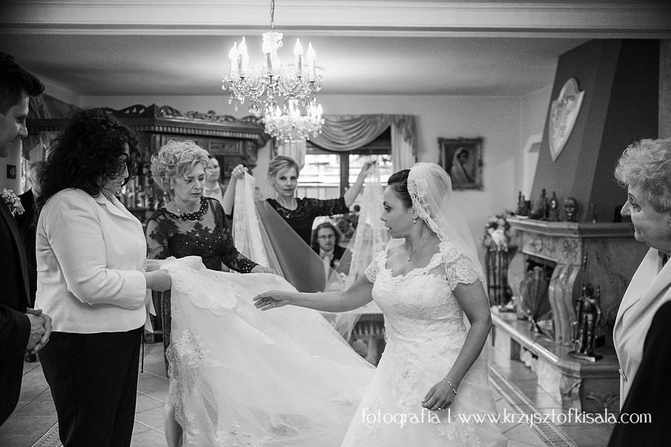 Ostatnie poprawki przed ślubem