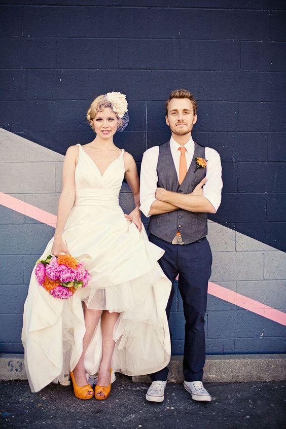 buty na ślub, kolorowe buty