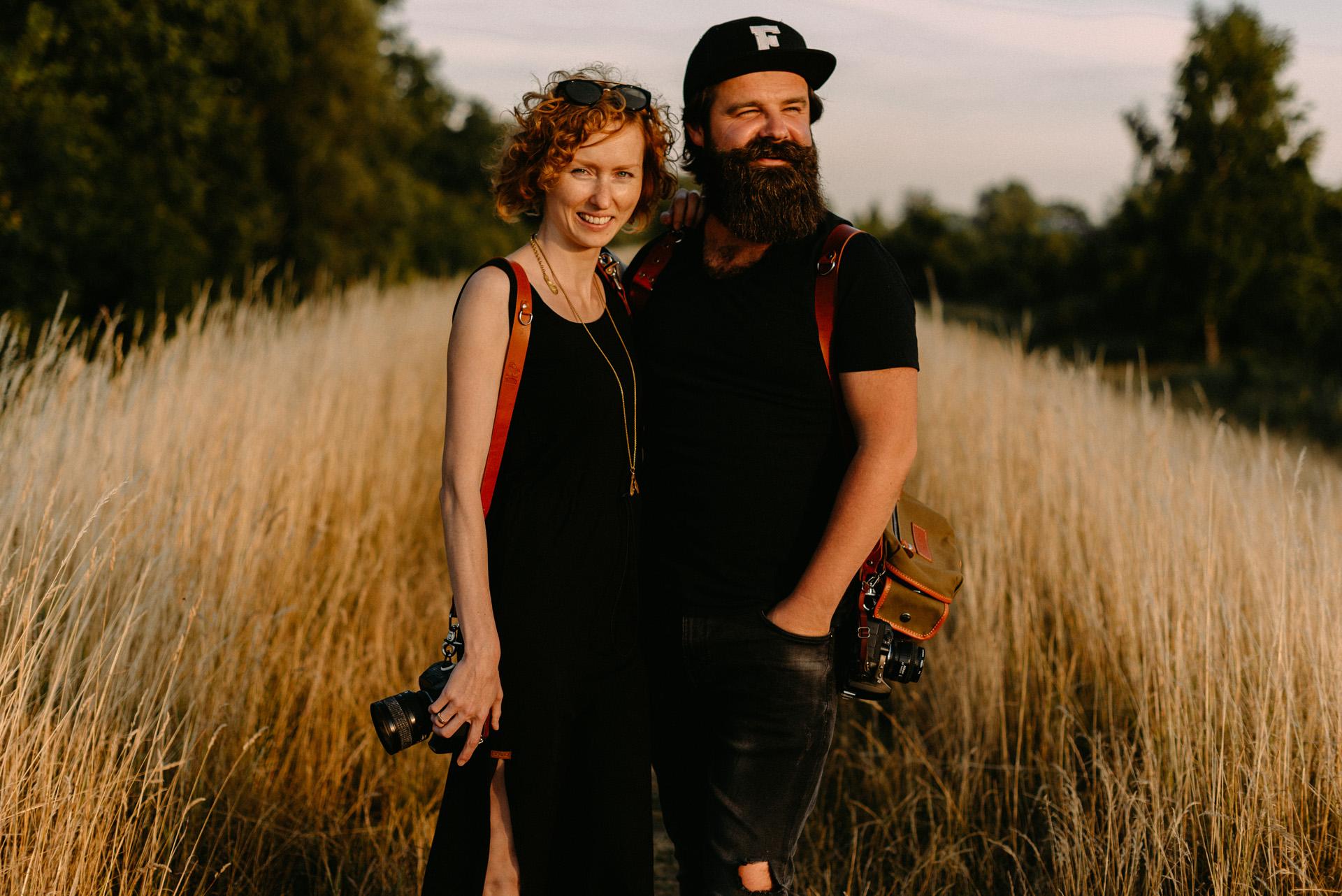 Natalia i Ernest, duet Piqsell, fot. Luke Sezeck