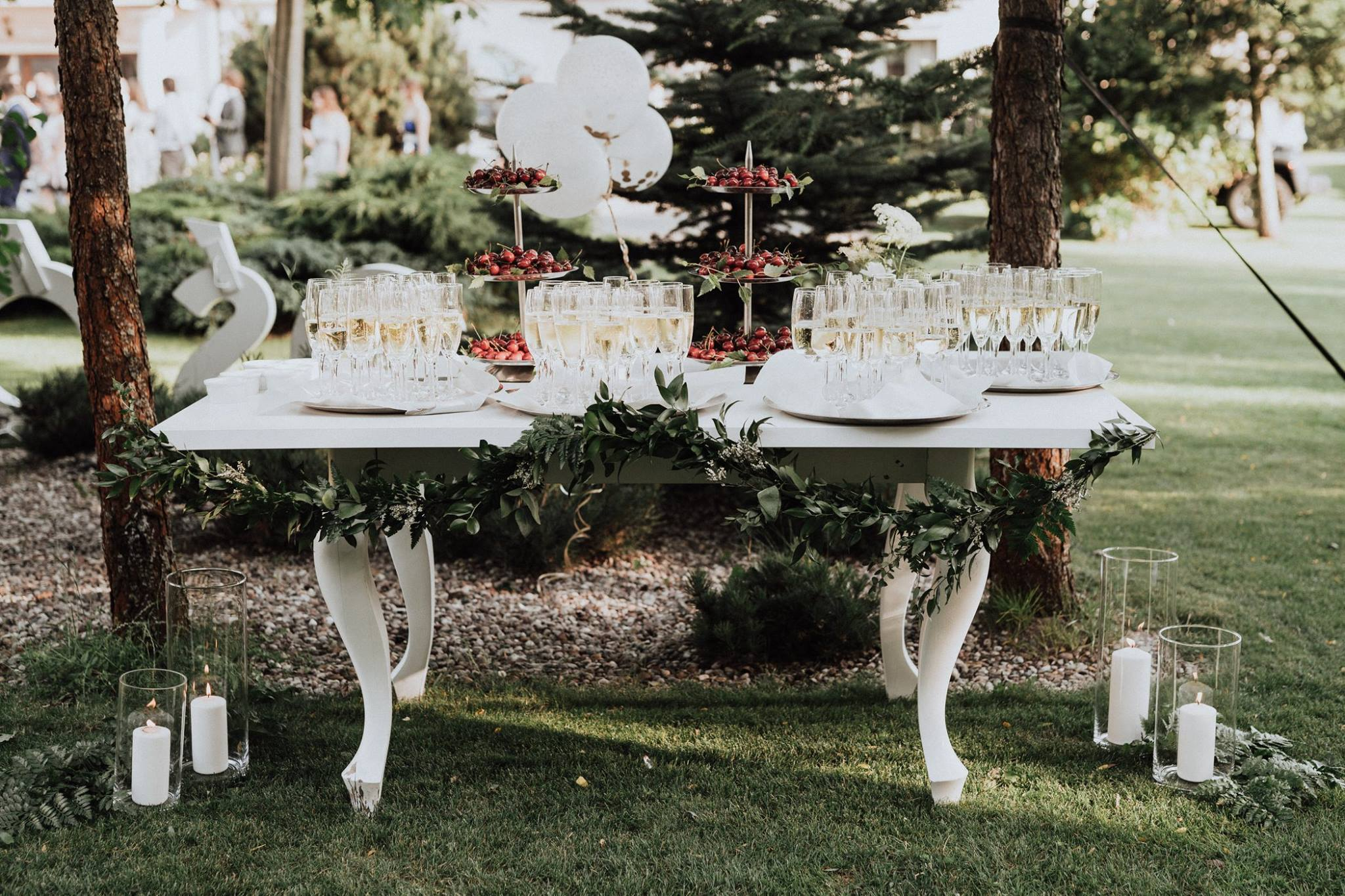 Wedding coordinators watch over every detail. for. Lovestory
